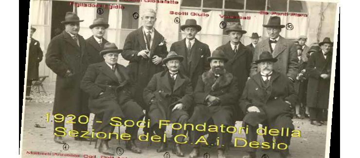 I 100 anni del CAI Desio