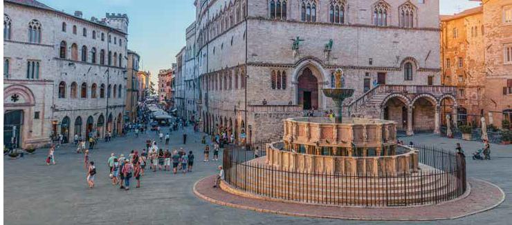 La festa di San Costanzo a Perugia