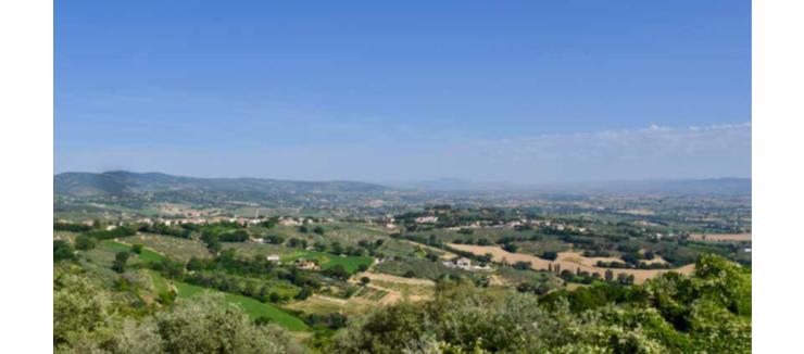 La terra del Sagrantino